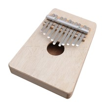 Yibuy 10 Keys Wooden Kalimba Mbira Thumb Piano Traditional Musical Instrument