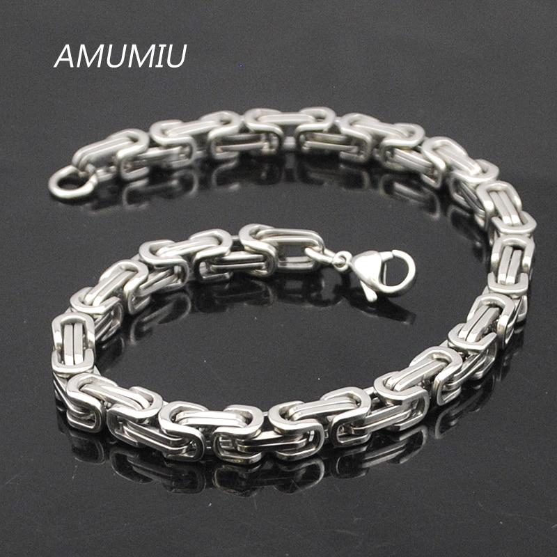 Προώθηση AMUMIU! Ανδρικά βραχιόλια χρυσό - Κοσμήματα μόδας - Φωτογραφία 4