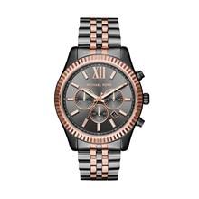Наручные часы Michael Kors MK8561 мужские с кварцевым хронографом на биколорном браслете