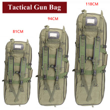 Hunting Equipment Tactical Gun Bag Airsoft Rifle Gun Case Protection Bag Military Shooting Shoulder Backpack Camping Fishing Bag black tan tactical rifle airsoft holster case gun bag tactical hunting bag military backpack camping fishing accessories bag