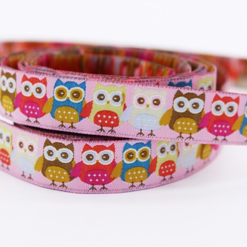 Ručně tvarovaná owl Jacquard Popruh Zakka Šicí štítek Santa - Umění, řemesla a šití