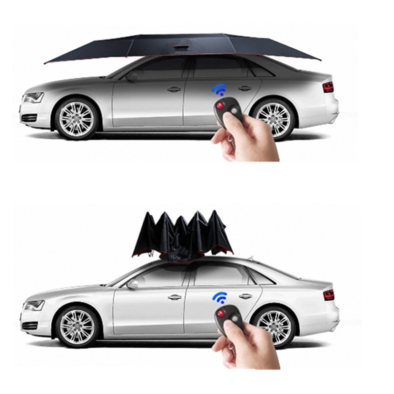 Fully Automatic Waterproof Car Umbrella Automobile Cover Remote Control Portable Outdoor
