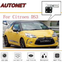 AUTONET rear view camera For Citroen ds3 DS3 2009~2018 CCD Night Vision/License Plate camera/Reverse Parking backup Camera