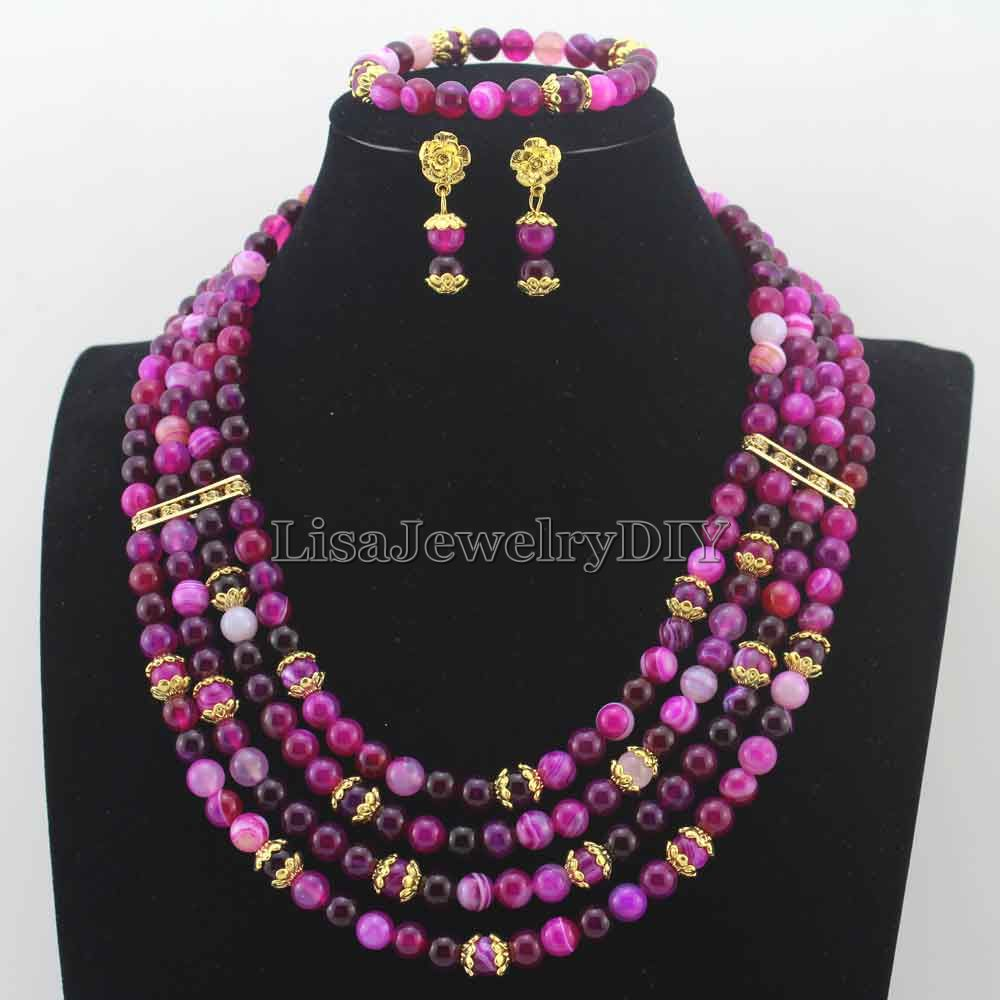 Fabulous Multicolor New Beads African Jewelry Set earrings Stone Beaded Party Necklace Set New Free Shipping HD7915Fabulous Multicolor New Beads African Jewelry Set earrings Stone Beaded Party Necklace Set New Free Shipping HD7915