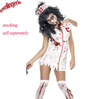 M,XL Adult Ragged Sexy Scary Costume Mummy Costumes zombie halloween costumes blood Sexy nurse costumes for women cosplay