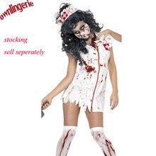 Disfraz de halloween M,XL adulto Ragged Sexy Scary Mummy Costumes sangre disfraces de enfermera sensual para mujer cosplay zombie costumes
