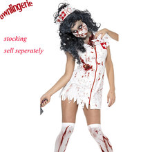 halloween Costume M,XL Adult Ragged Sexy Scary Mummy Costumes blood Sexy nurse costumes for women cosplay zombie costumes