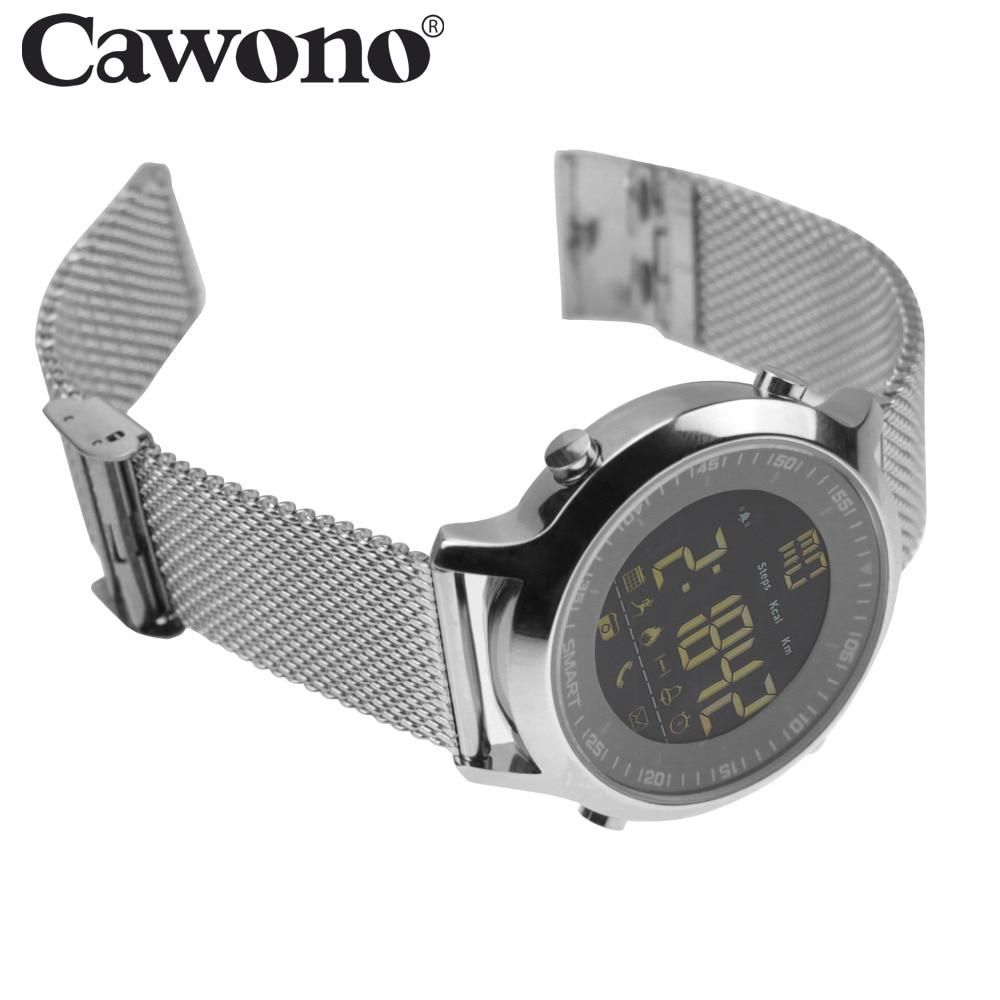 Cawono EX18 5ATM Waterproof Smart Watch Pedometer Tracker Call reminder Bluetooth 4 0 Wristwatch SmartWatch for