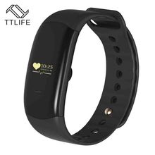 TTLIFE Новый H2 сердечного ритма monitore Смарт Браслет Здоровья наручные часы напоминание для iPhone 7 мобильных телефонов