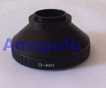 Amopofo OM-C Adapter,For Olympus OM Lens to C Mount 16mm Movie Digital camera Adapter
