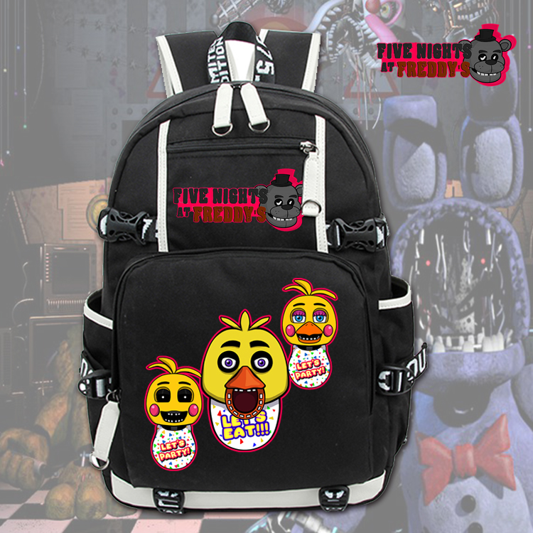 Five Nights At Freddys Backpack FNAF Chica Foxy Bonnie Mangle Children School Bags Backpacks Boys Girls Shoulders Bags Bookbag five nights at freddys backpack for teen bonnie fazbear foxy freddy chica backpack boys girls school bags backpacks kids bags