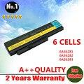 Nova bateria de 6 células para ThinkPad X220 X220i x220s 42T4876 Series 0A36281 42T4901 42T4902 42Y4864 de