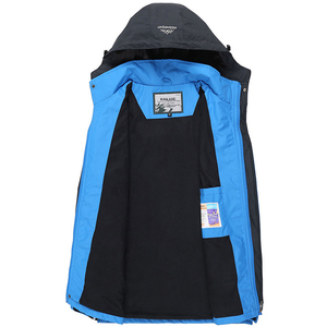 Image 3 - Chaqueta impermeable con capucha para hombre, abrigo transpirable para primavera y otoño, prendas de vestir, rompevientos, ropa del ejército, 5XL