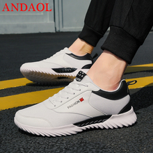 ANDAOL New Mens Casual Shoes Top Quality Mixed Coloers Mesh Breathable Walking  Luxury Non-Slip Wear Resistant Sneakers