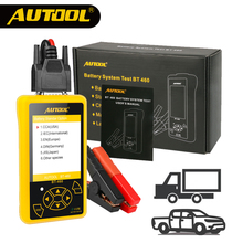 AUTOOL 12V 24V font b Battery b font Meaurement Test Analyzer Heavy Duty Automotive Power Tester