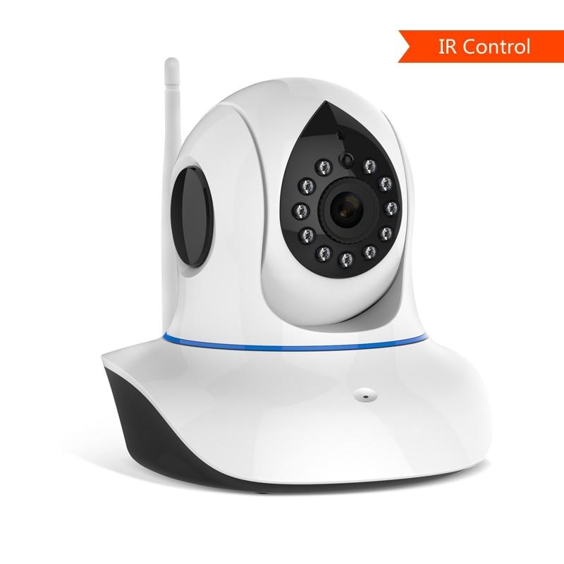 """""""720P HD IP"""" kameros palaikymas """"ONVIF2.4"""" ir IR nuotolinio valdymo pultas, skirtas televizoriaus oro kondicionieriaus projektoriui namuose, teikia """"Eye4 Free Smart APP"""""""