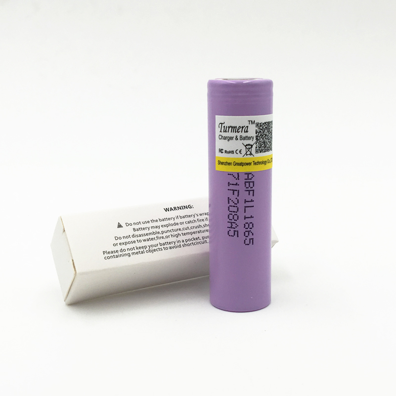 1PCS Original 18650 F1L 3350mAh Turmera18650 Battery Lithium ion rechargeable battery Application  power and flashlight oct15
