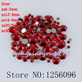 100-1000pcs/bag,Nail Art,SS6/12/16/20/30,Red resin flatback crystal rhinestone,Not Hotfix,Use glue,phone case,applique,nails,DIY