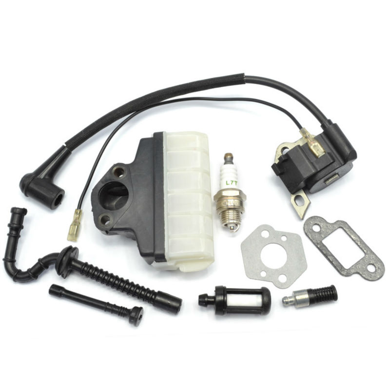 Chainsaw Parts Ignition Coil Air Fuel Oil Filter Hose Gasket Set Spark Plug for Stihl MS210 MS230 MS250 OEM 0000 400 1306 chainsaw air filter gas fuel oil filter hose line gasket for stihl 023 025 ms 230 ms 250 spare parts
