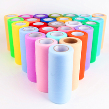 Solid Color Transparent Polyester Tulle Roll For Kids Dress Decor