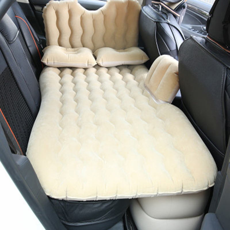 Car Travel Inflatable Bed Outdoor Travel Mattress Bed Camping Mat Car Bed Inflatable Air Cushion Car Mattress Car Rest Pad