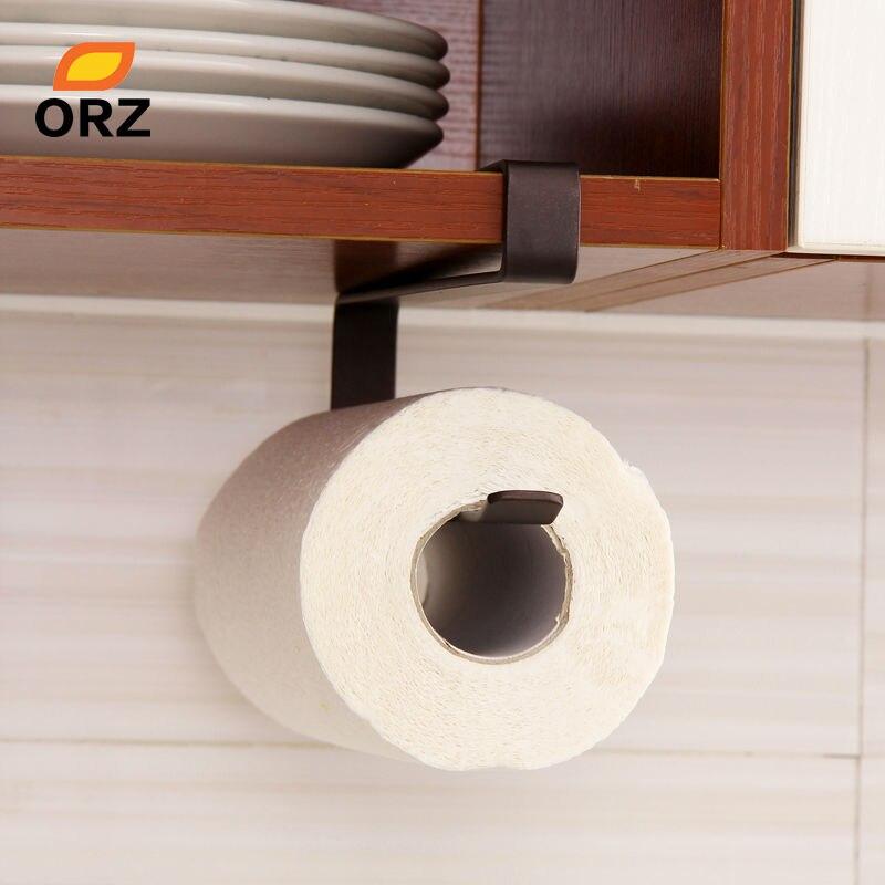 Orz cocina creativa papel colgando baño toallero higiénico titular ...