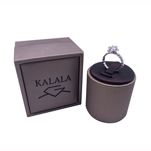 Image 3 - 925 סטרלינג כסף טבעת 1ct 2ct 3ct יהלום ליטוש עגולה תכשיטי Moissanite טבעת אירוסין טבעת יום נישואים טבעת