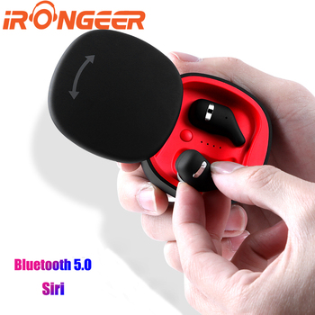 Wireless Earbuds Bluetooth 5.0 Dual Mic Air TWS Pods True Wireless Headphones IPX5 Waterproof Mini Car Calling Video Games Siri