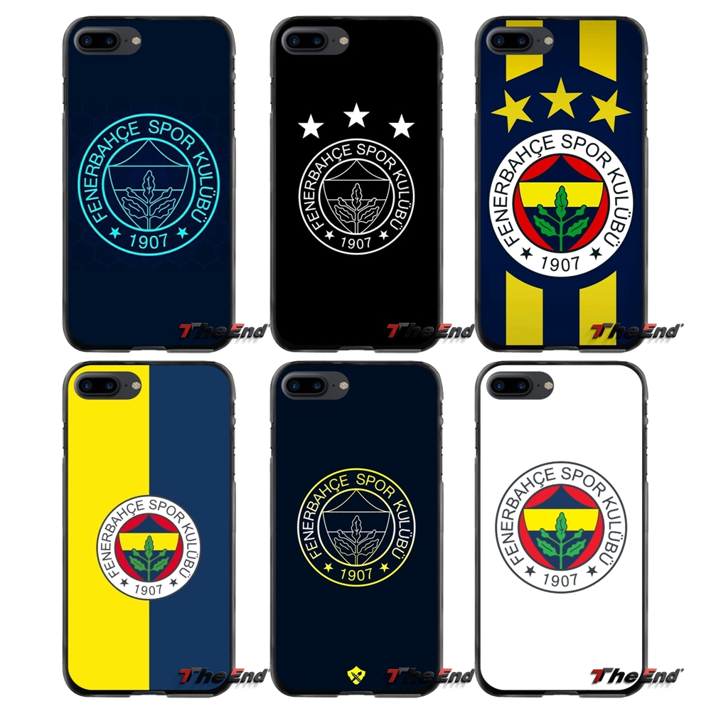 For Apple iPhone 4 4S 5 5S 5C SE 6 6S 7 8 Plus X iPod Touch 4 5 6 Fenerbahce sk football logo Accessories Phone Cases Covers