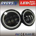 2016 New Product 30W 4.5inch led fog light front lamp 10-30V with halo ring for H-arley motorcycles