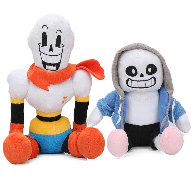 US $11 53 15% OFF|Asriel Toriel Frisk Asriel Napstablook Toriel Temmie  Chara Papyrus Soft Stuffed Dolls Peluches bebe Undertale Sans Plush Toy-in