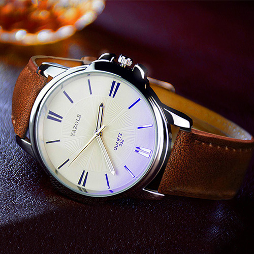 YAZOLE Business Quartz Watch Men Top Brand Luxury Famous New Wrist Watches For Men Clock Male Wristwatch Hours Relogio Masculino new 2017 men watches luxury top brand skmei fashion men big dial leather quartz watch male clock wristwatch relogio masculino