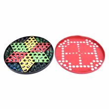Chinese Checkers Chessboard Battle Ludo Flying Airplane glass marbles checkers Carpet Chess Kids Develop Intelligence Game(China)