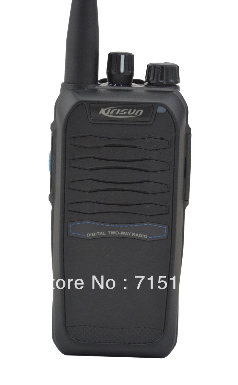 Kirisun K850 UHF 400-470MHz Digital Portable Two-way Radio Kirisun Portable Ham Radio 10km Walkie Talkie
