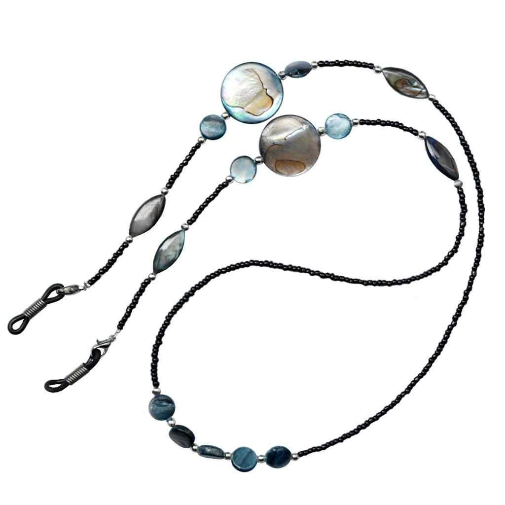 2019 Handmade Pearl Beads Eyeglasses Chain Women Beaded Sunglasses Holder Retainer Sport Activities Eyewear Lanyard Necklace