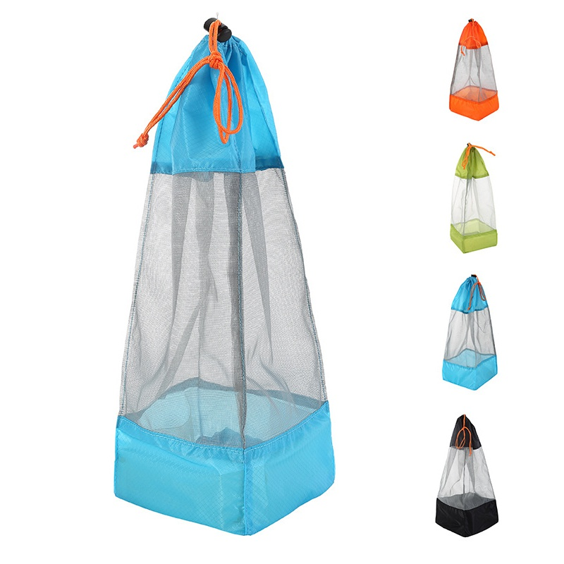 Outdoor Mesh bag quilt cover sheets clothing compression storage bag Travel for shoes underwear beam finishing Convenient