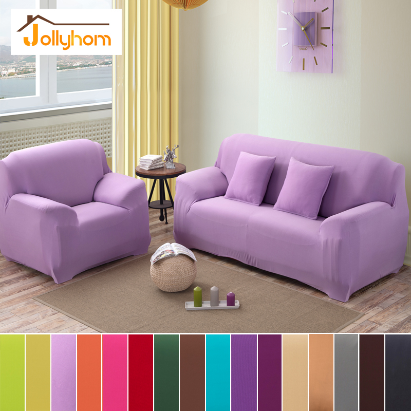 16 Colors Solid Color Sofa Cover Elasticity Flexible