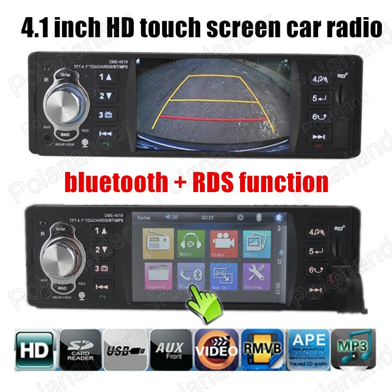4.1'' Touch Screen Car MP5 Player Car Radio Audio Stereo