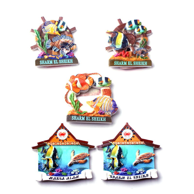 Game Fish Thailand 3D High Quality Resin TOY Fridge Magnet Free ship
