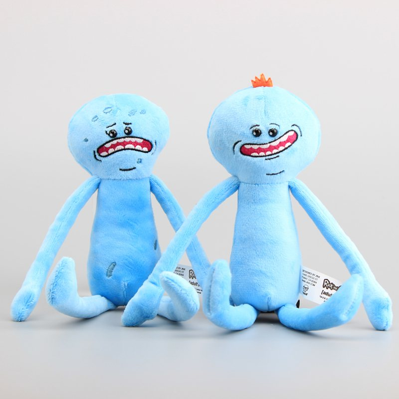 2 Stlyes Rick and Morty Happy & Sad Meeseeks Stuffed Plush Toys Dolls For Kids Gift 26 CM 1