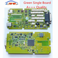 5pcs Lot DHL Free Green Single Board TCS Cdp PRO A Quality NEW VCI Bluetooth CDP
