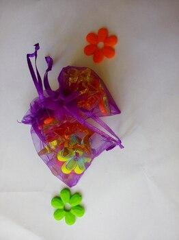 20*30cm 300pcs Dark purple Organza Bag christmas Drawstring bag jewelry packaging bags for gift/candy/wedding/party Yarn bag