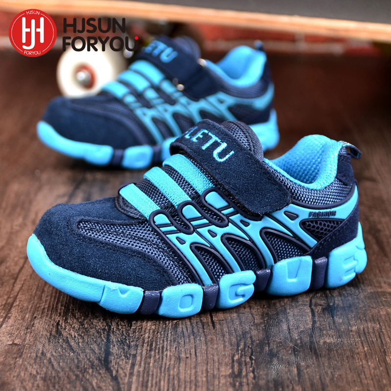 Genuine Leather Children shoes fashion boys girls outdoor shoes good quality parent-child shoes breathable casual sport shoes