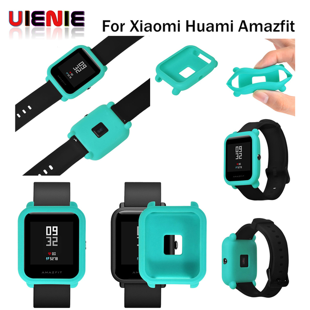 Aliexpress.com : Buy Protect Frame Sotf Silicone Watch Case Cover for Xiaomi Amazfit Bip BIT