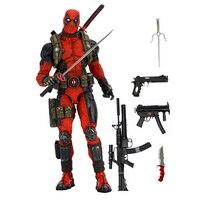 46 см Marvel X men Дэдпул подвижные швы фигурка большие куклы игрушки ПВХ фигурка Коллекция Модель игрушки H551