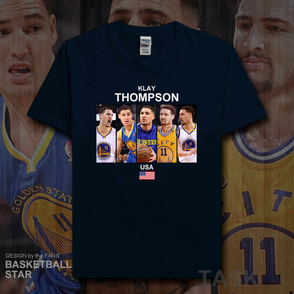 online store e1bff 8715f Detail Feedback Questions about Klay Thompson t shirt men ...
