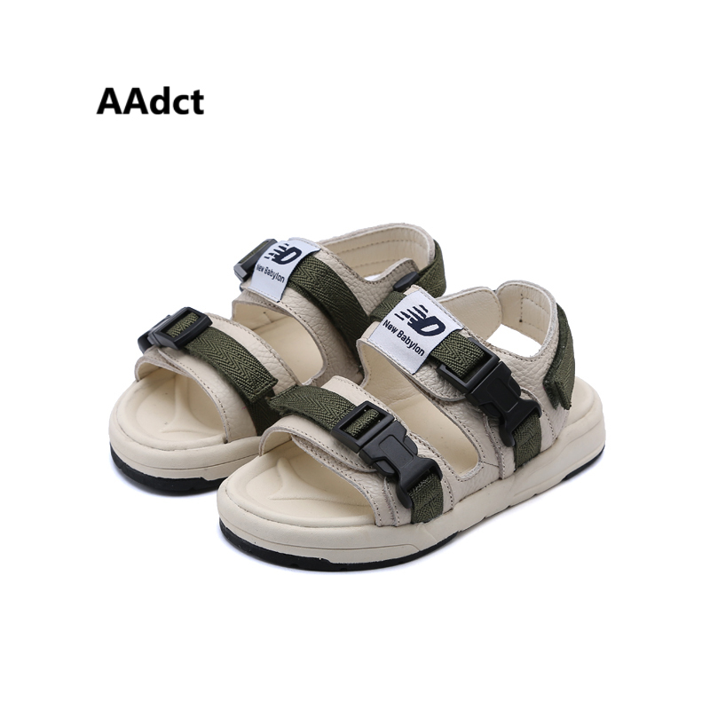 AAdct summer 2018 new Boys sandals soft sports kids sandals for girls Brand High-quality fashion beach children shoes