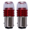 2pcs/Pairs Red 1157 Bay15d Cob Led DC12v Brake Light Flashing For Car 1157 s25 Bay15d Auto Led Turn Signal Lamp Bulb VANJING