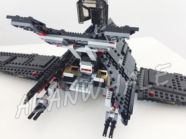 863 шт. Space Wars 05049 коллекция krennics имперский шаттл модель строительные блоки детские игрушки, совместимые с Lego