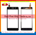 "High Quality 5.0"" For Huawei Honor 4C G Play Mini Touch Screen Digitizer Sensor Front Glass Lens Panel Black White Gold"